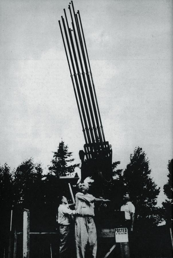 Reich testa instrumento para pesquisar OVNIs, outro objeto de estudo do austríaco