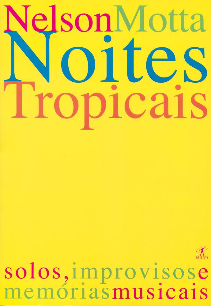 Capa de um dos livros de Nelson Motta