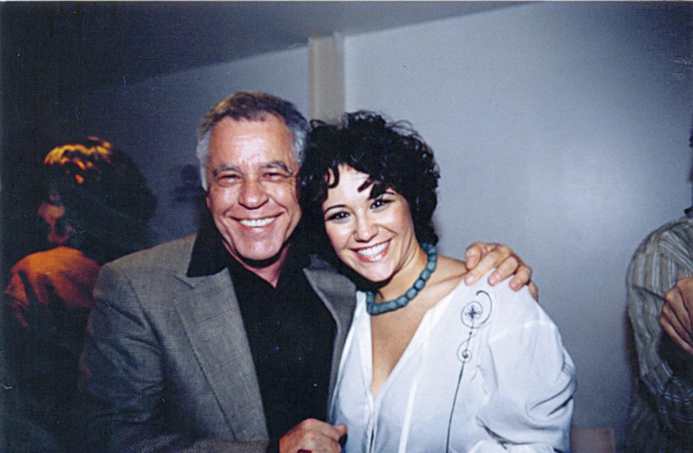 com a cantora Maria Rita