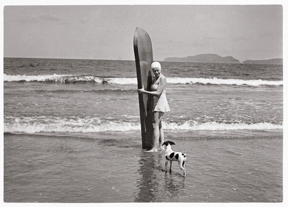 Margot Rittscher, a primeira surfista brasileira
