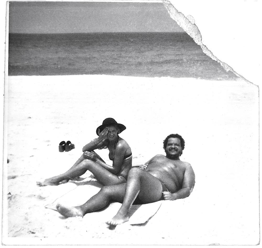 Tim Maia conferindo o azul do mar: a liberdade da praia inspirava as músicas