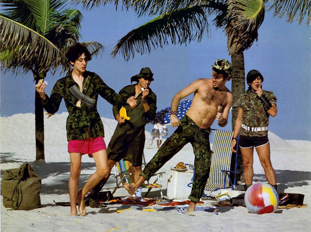 O Ultraje a Rigor invadiu a praia do rock nacional metafórica e literalmente