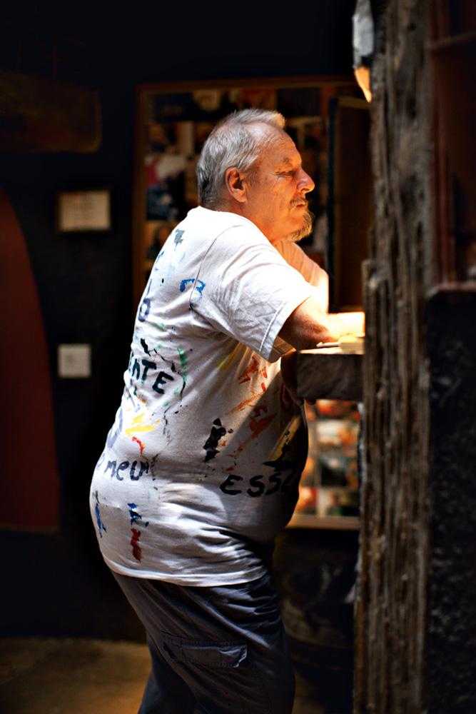 o inglês Bob Nadkarni, criador do The Maze, que atrai até 800 pessoas com noites de jazz: 'Nunca tive medo de traficante