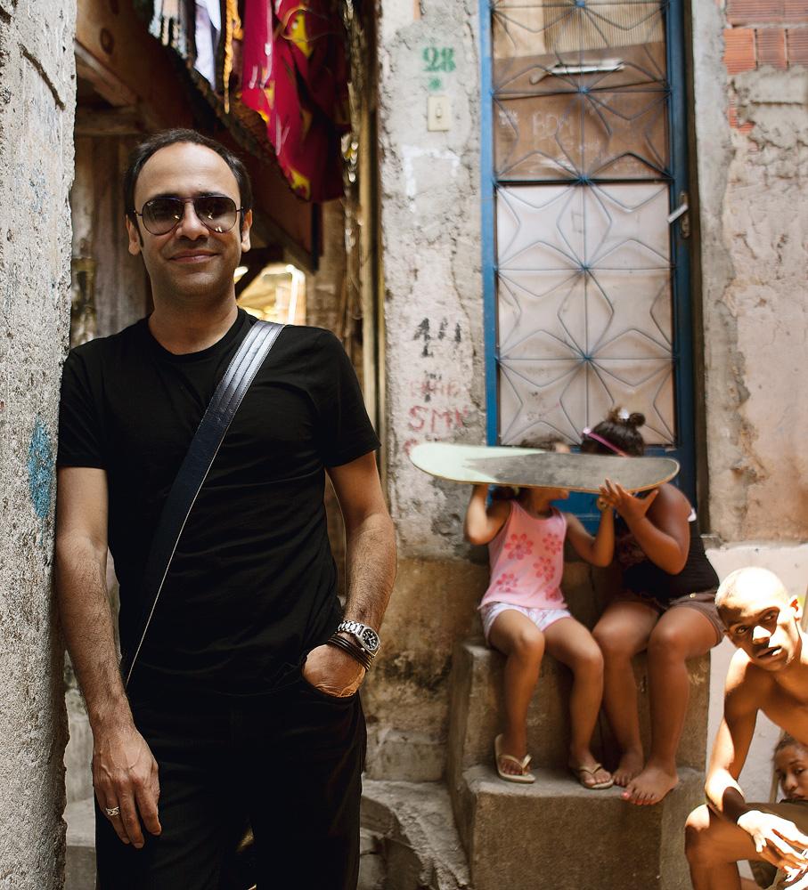 o publicitário André Lima