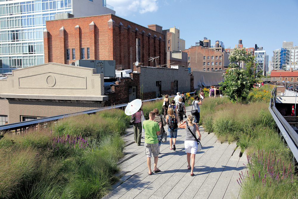 A High Line de Nova York transformada em parque