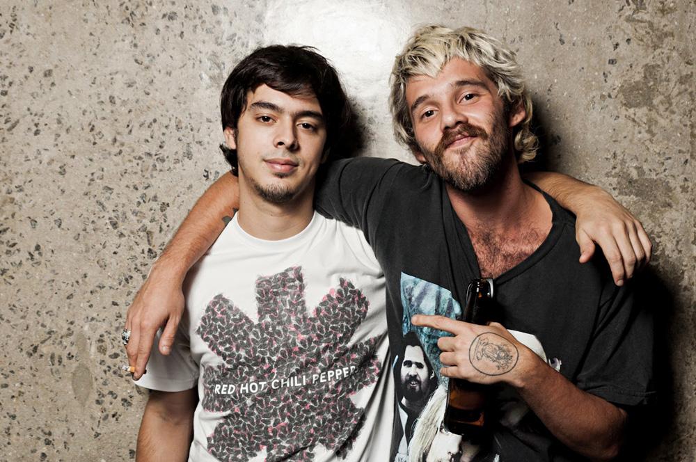 Com João Pedro, filho de Marcelo Bonfá, ex-baterista do Legião Urbana
