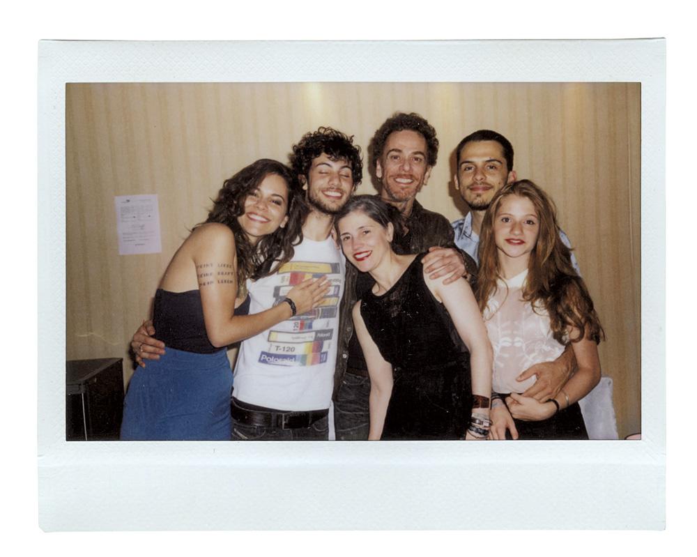 No ano passado, com Vânia, Sophia, Sebastião, Theodoro e Zoé