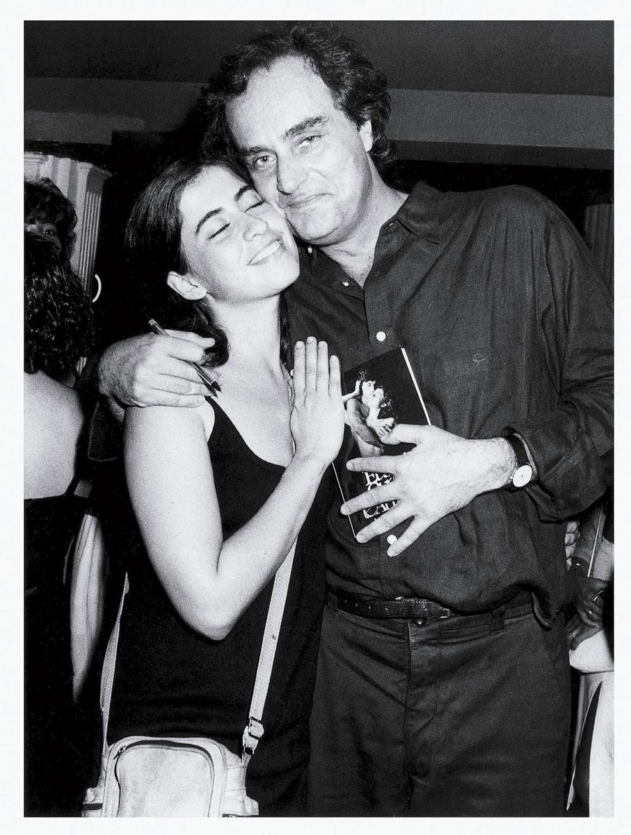 Nos braços de Arnaldo Jabor, diretor de Eu sei que vou te amar (1986), que lhe rendeu a Palma de Ouro em Cannes