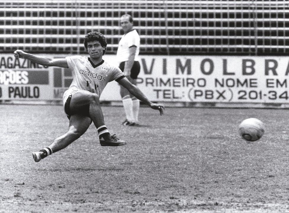 Na adolescência, quando treinava no Olaria Atlético Clube