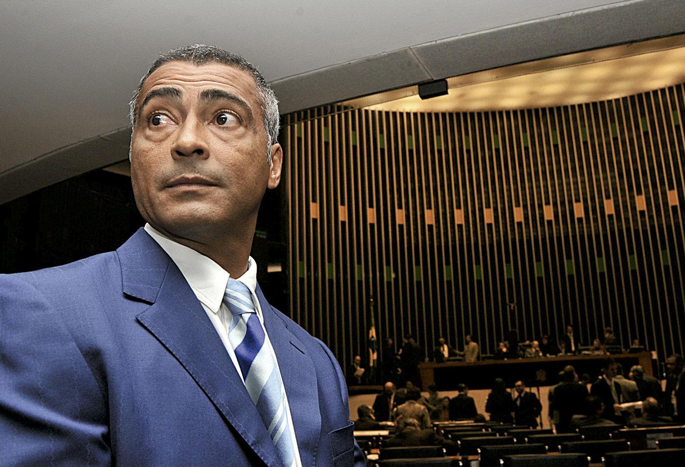 Na Câmara, em Brasília: