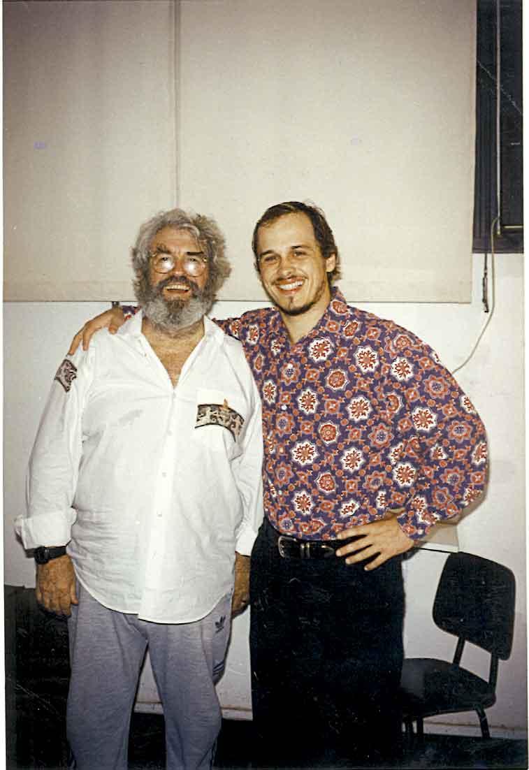 Com Juca de Oliveira, também em Desejo