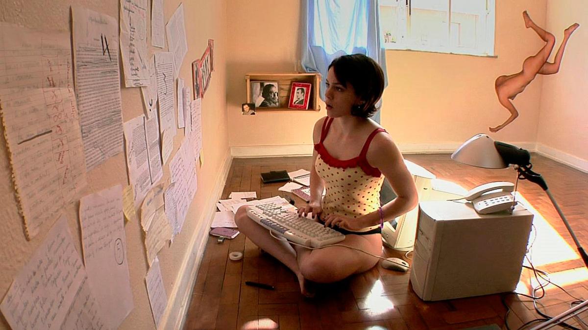 Em cena do filme Nome próprio, de 2007