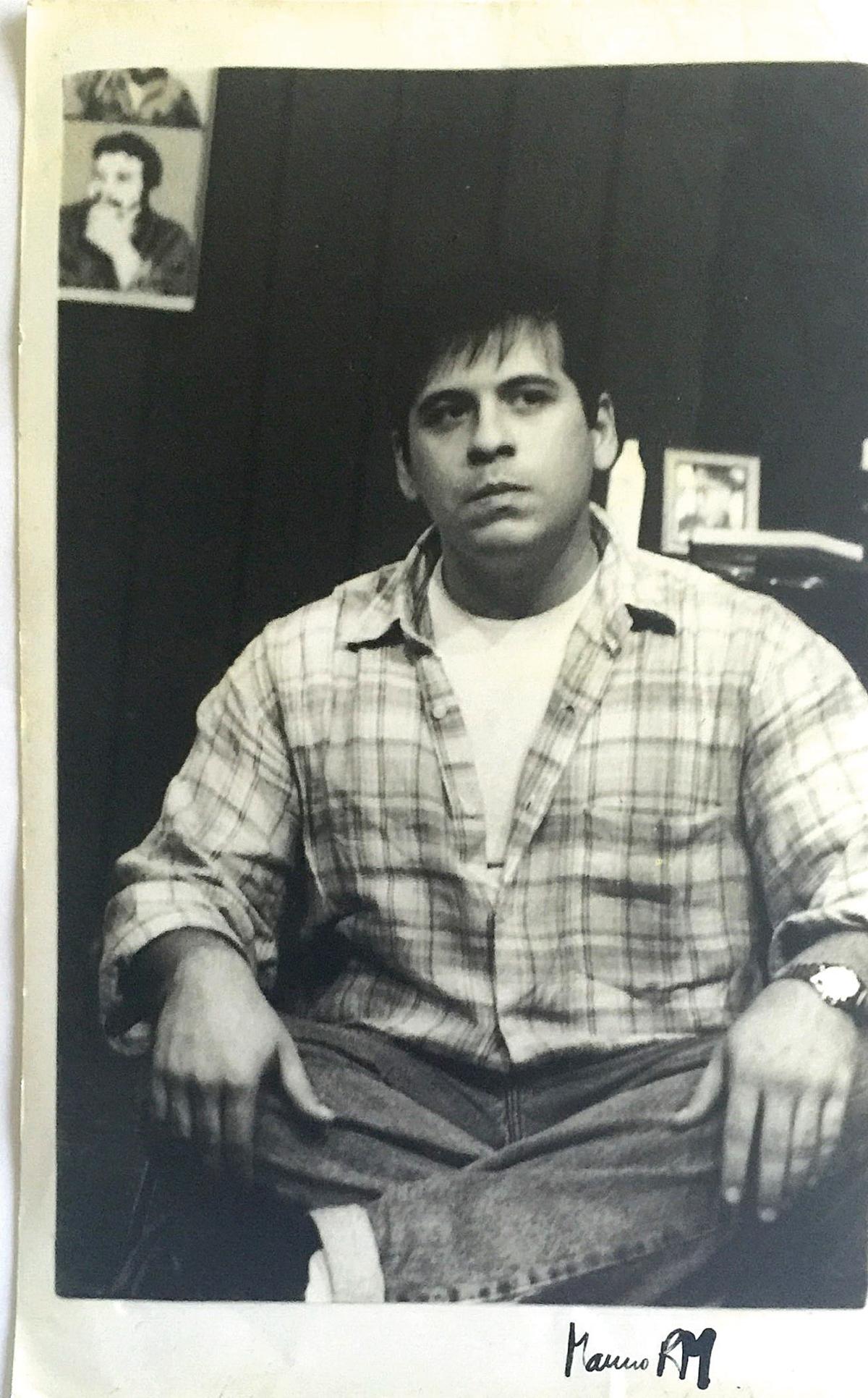 Leandro Hassum no espetáculo 'Endependência', em 1999