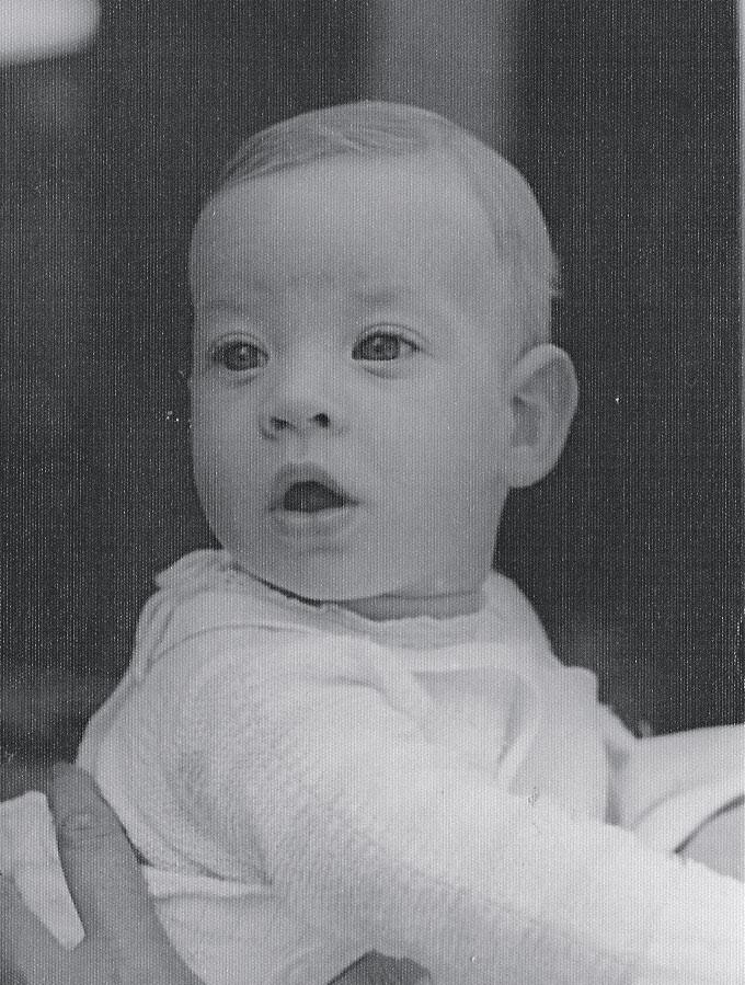 Dan Stulbach com 6 anos