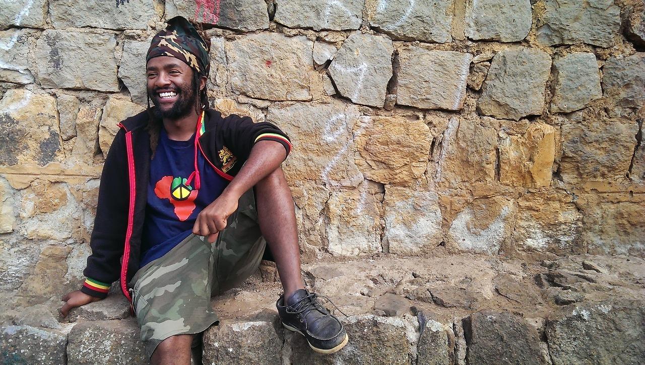 Israel Dejene, criador do projeto Ethioskate