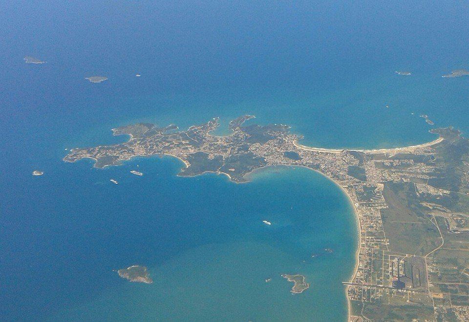 Vista geral da península de Búzios