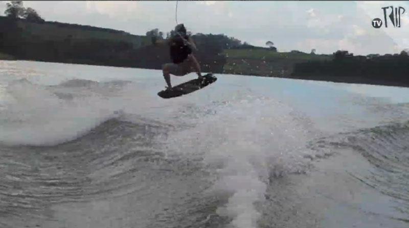 Skate na água