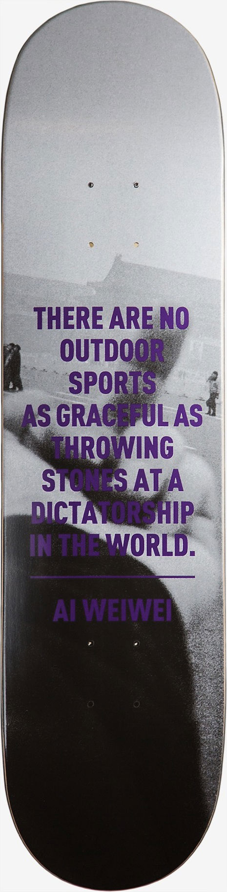 """There Are No Outdoor Sports as Graceful as Throwing Stones at a Dictatorship in the World"""