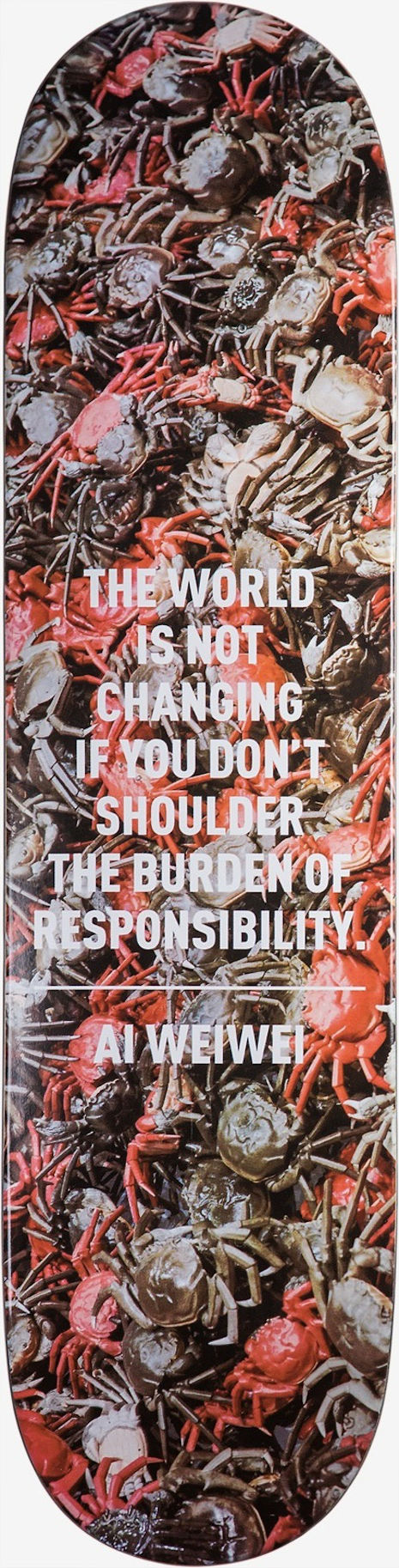 """The World Is Not Changing If You Don't Shoulder the Burden of Responsibility"""