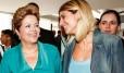 Com Dilma no Pal�cio da Alvorada