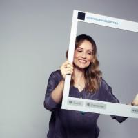 """""""Todos querem a perfeição no facebook, inclusive eu"""" Milena Paes de Barros, booker"""