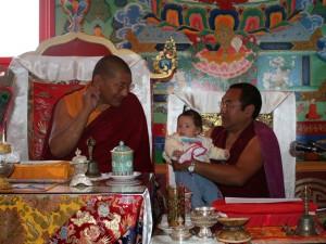 Com Getse Rinpoche e o nosso amado Jigme Tromge Rinpoche