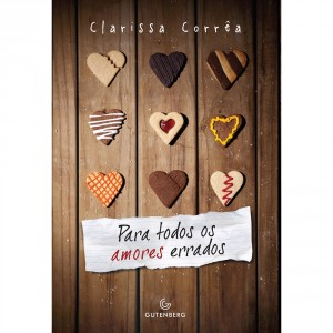 Capa do livro Para todos os amores errados