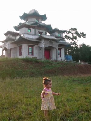 No monastério onde nasceu no Brasil