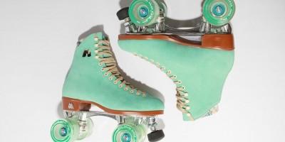 A vez dos patins