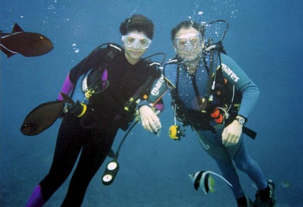 Mergulhando com Ernesto em Fernando de Noronha