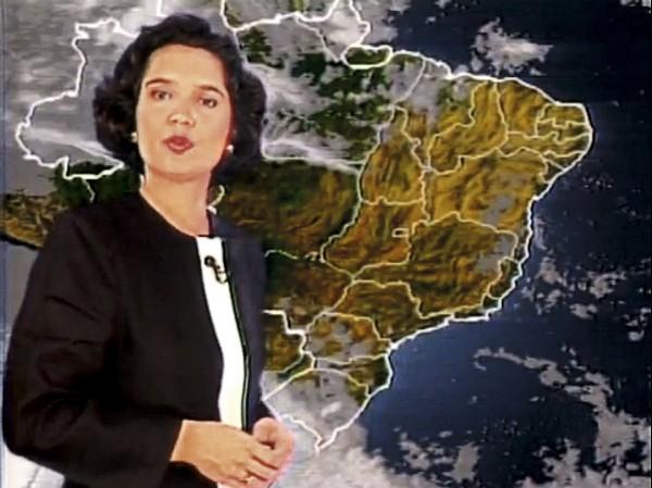 Como moça do tempo do Jornal Nacional