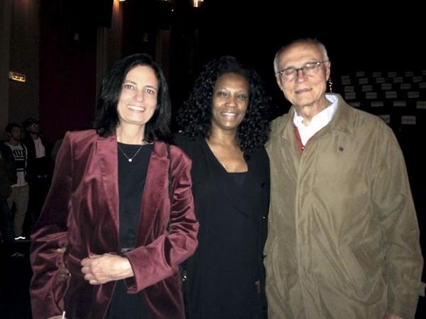 Com Monica Dallari e Eduardo Suplicy