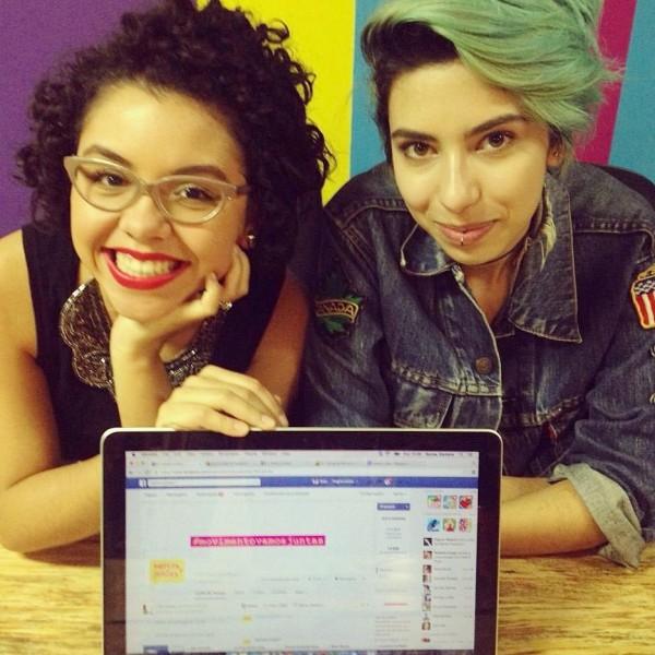 Babi (à esquerda) e Vick (à direita), criadoras do movimento