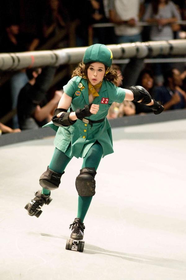 Ellen Page no filme 'Garota Fantástica' ('Whip It')