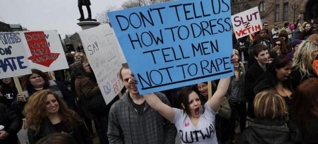 Não diga como devemos nos vestir; diga aos homens para não estuprarem