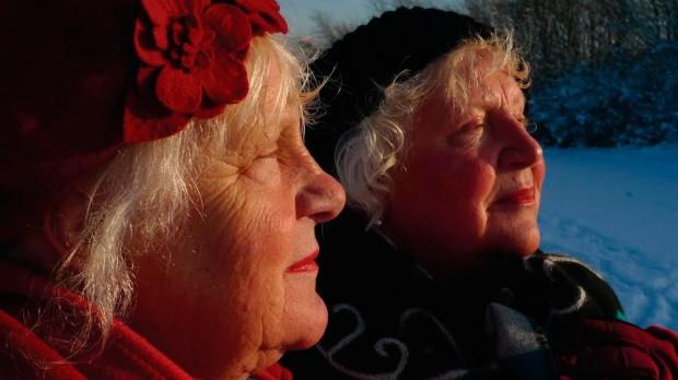 Martine e Louise em 2010