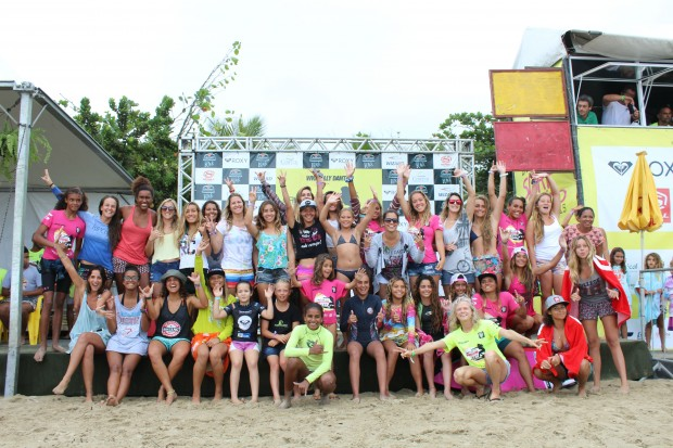 O surf feminino não é categoria, é um esporte.