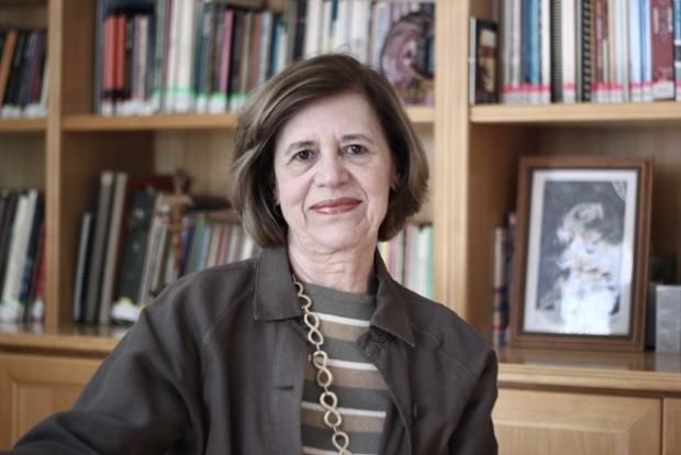 Maria José Rosado Nunes na sede da ONGCatólicas pelo Direito de Decidir, em São Paulo