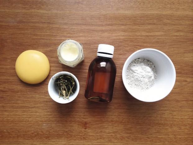 Produtos usados por Cristal