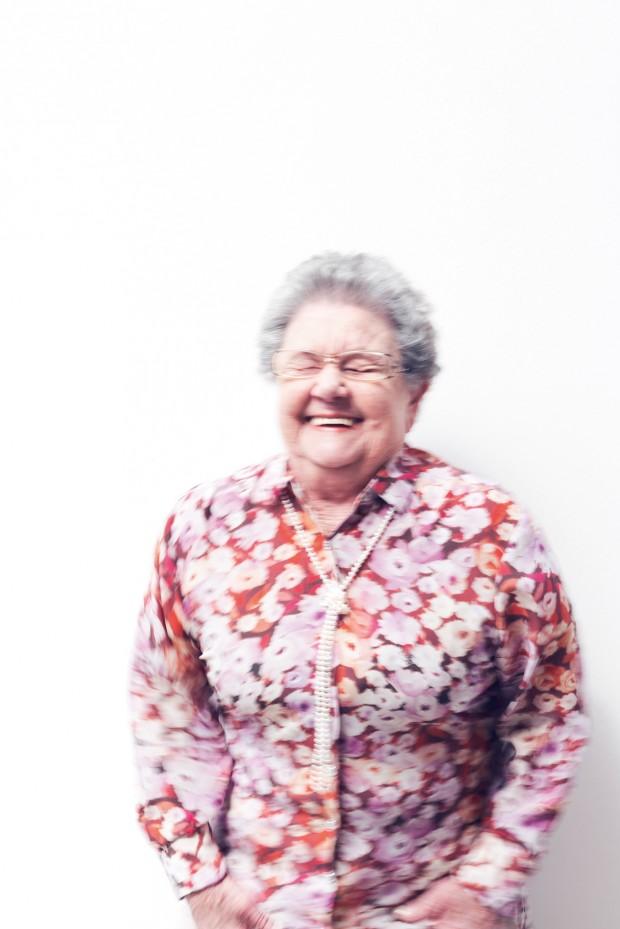 Palmirinha Onofre: acomodada ficava a sua avó