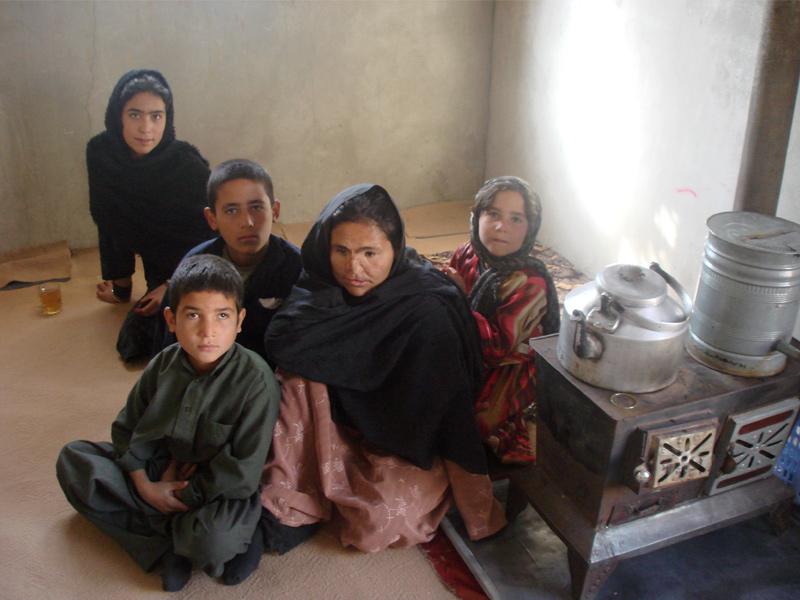 Wahida, viúva, uma das personagens do livro, foi vítima de um atentado suicida