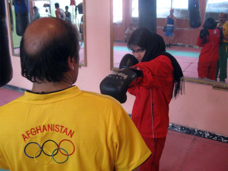 Escola feminina de boxe