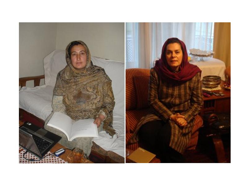 A médica Massouda, que concorreu a presidência
