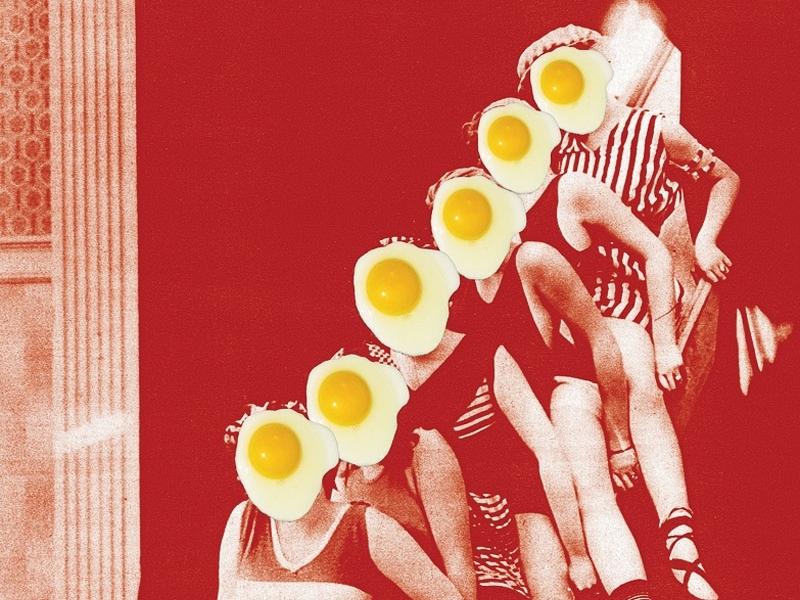 Um ovo frito, por favor