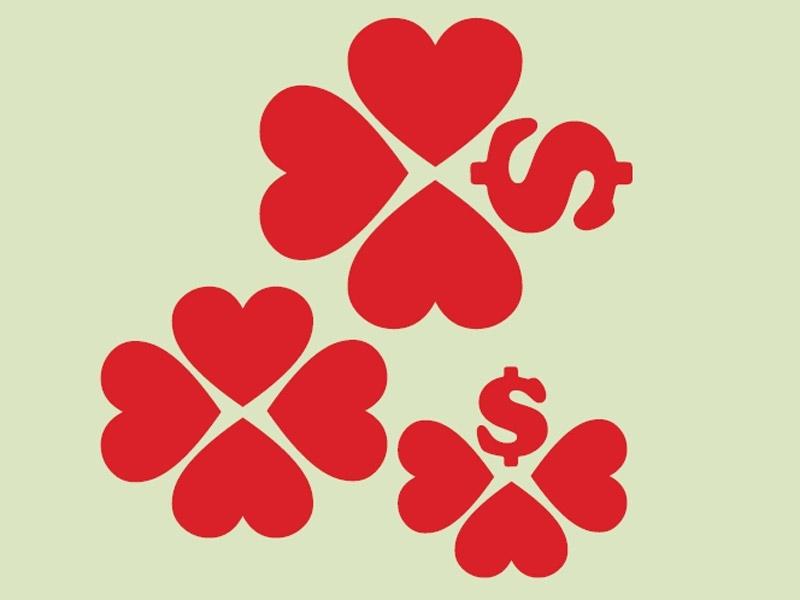 Dinheiro + afeto