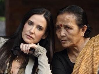 Demi Moore contra a escravidão sexual no Nepal
