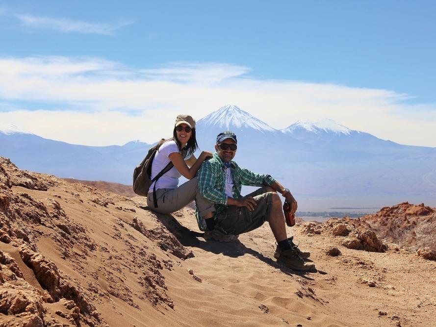 Pinceladas sobre o Atacama