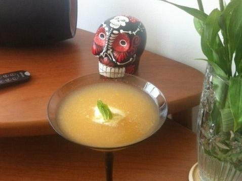 Sopa... de melão!
