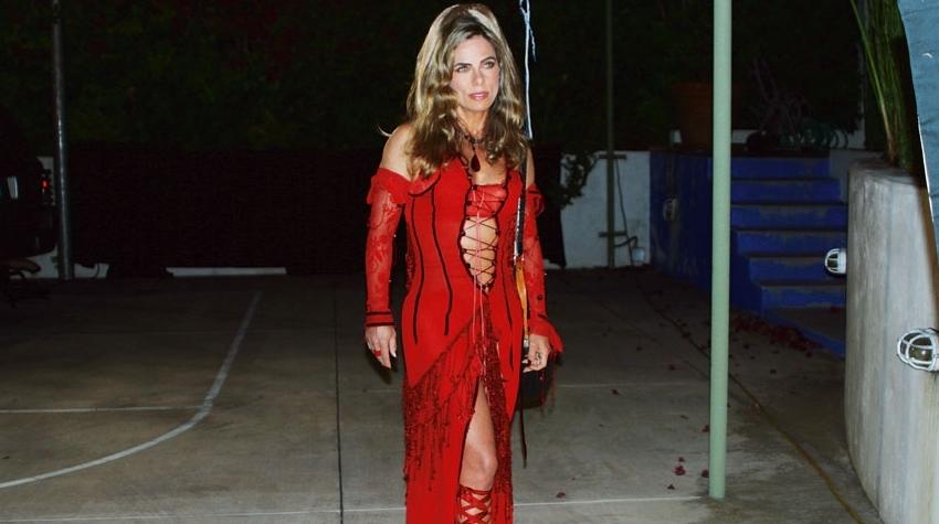 O que a moda fez com Bruna Lombardi?