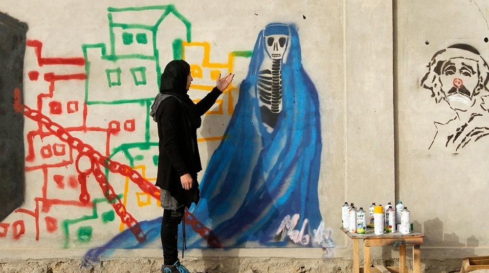 O feminino invade a arte de rua